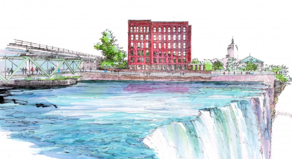 High Falls bridge