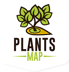 plants map logo