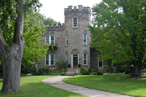 Historic Warner Castle in Rochester's Highland Park