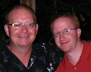 Gordon Ballard and Husband Brian Olinski